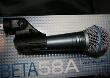 SHURE BETA 58A a SHURE SM57LC
