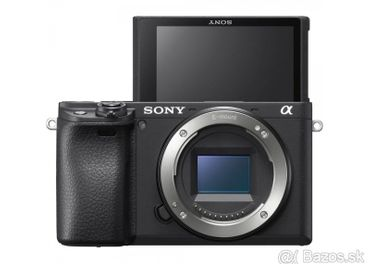 Sony Alpha A6400 + objektív 16–50 mm /NOVÝ - nerozbalený/