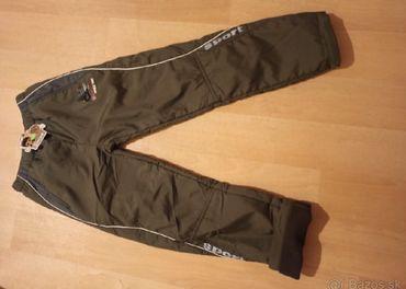 Zateplené nohavice v.158
