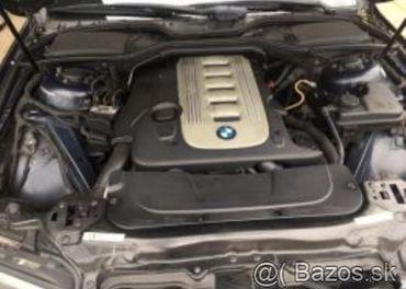 Prodám motor z BMW e65 730d 160kw 306D2 najeto 250tis km