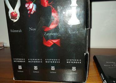 Twilight sága (komplet kolekcia 1-4) + novela doplňujíca ság