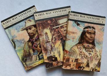Predám knihy Karl May: Vinnetou I.- III.