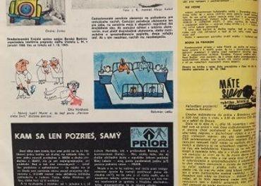 Humoristický časopis Roháč ročník 1968